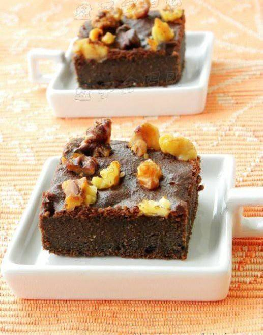 Home Cooking Recipe: Bean dregs brownie