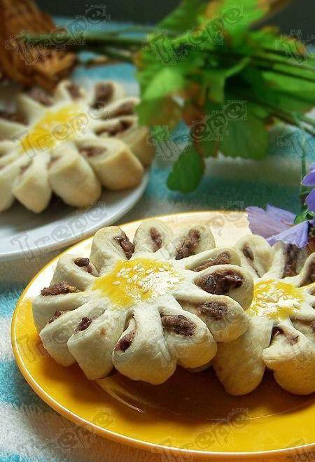 Home Cooking Recipe: Bean sand chrysanthemum