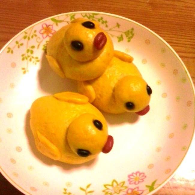 Home Cooking Recipe: Bean sandbags stay cute little yellow duck [exclusive]