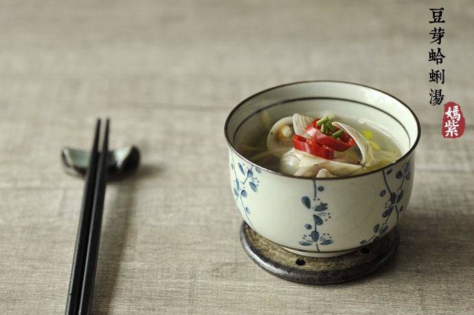 Home Cooking Recipe: Bean sprouts soup