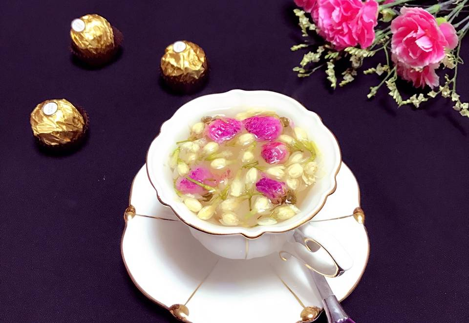 Home Cooking Recipe: Beautiful chef's flower tea