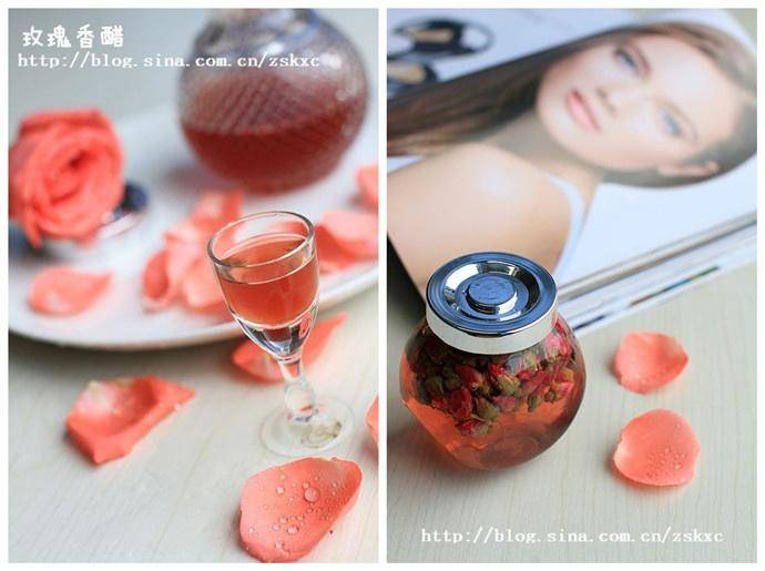 Home Cooking Recipe: Beauty rose vinegar