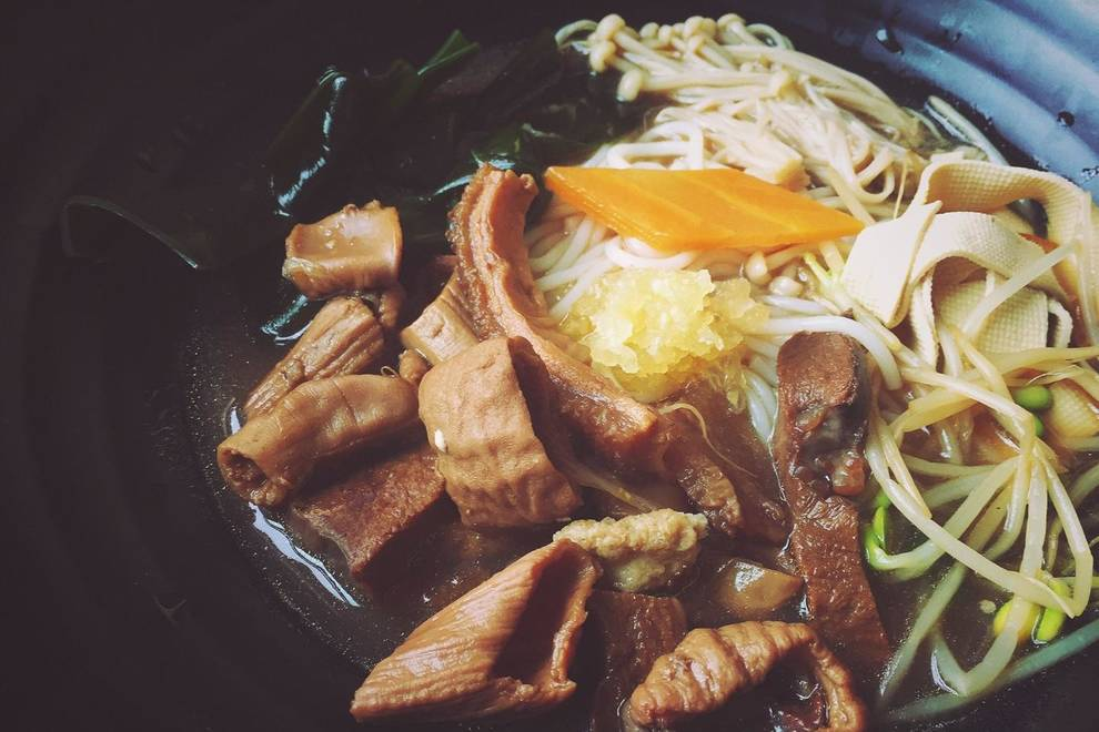 Home Cooking Recipe: Beef noodle line