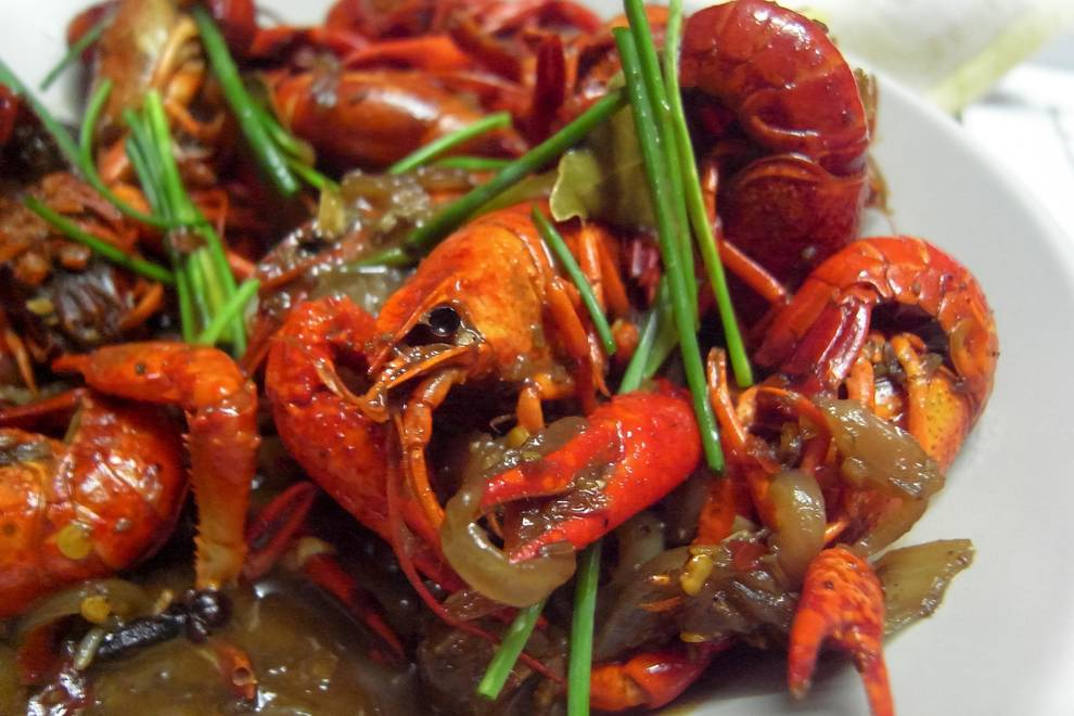 Home Cooking Recipe: Beer burning crayfish