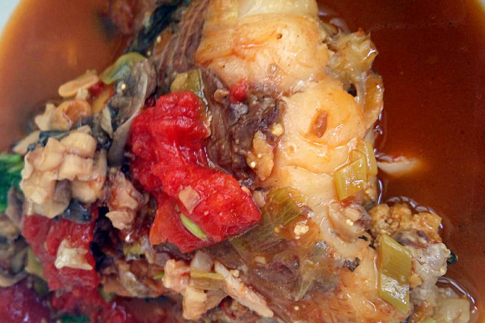 Home Cooking Recipe: Beer, Pixian County bean paste stewed freshwater fish