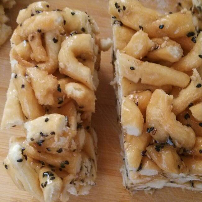 Home Cooking Recipe: Black and white sesame shaqima