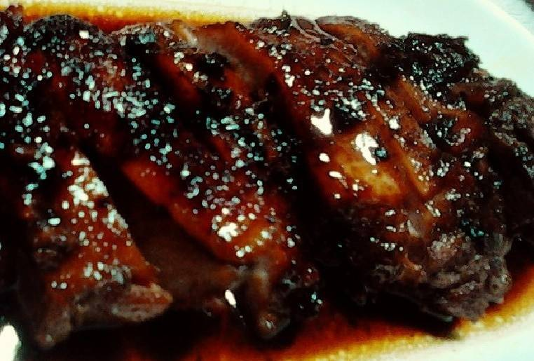 Home Cooking Recipe: Black pepper duck leg