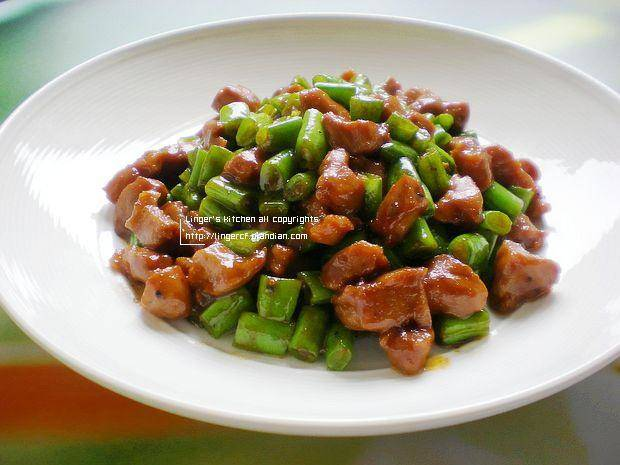 Home Cooking Recipe: Black pepper fried diced