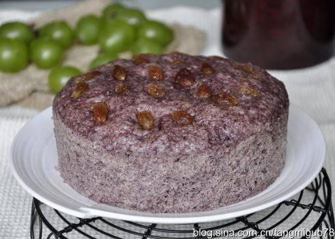 Home Cooking Recipe: Black rice cake