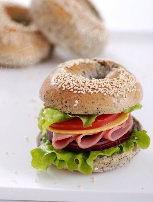 Home Cooking Recipe: Black sesame and bayo sandwich