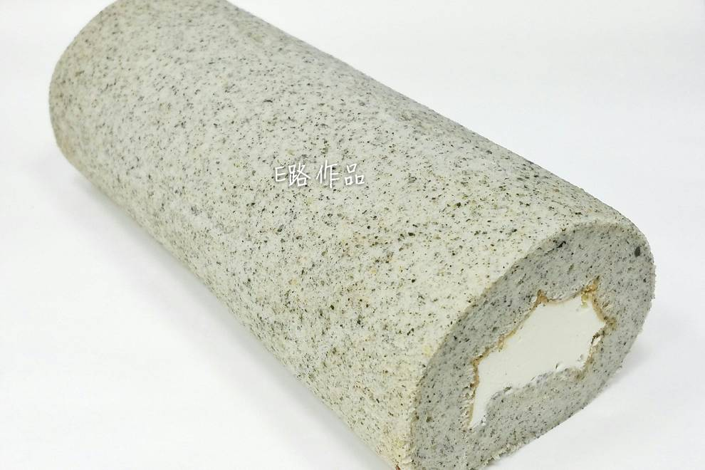 Home Cooking Recipe: Black sesame cake roll
