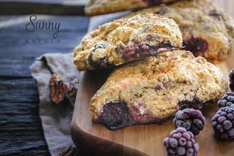 Home Cooking Recipe: Blackberry whole wheat scottish health, baking <good meal 2>