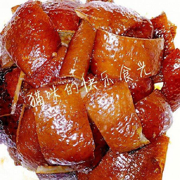 Home Cooking Recipe: Braised pork skin