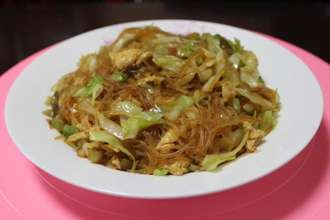 Home Cooking Recipe: Cabbage fan scrambled eggs