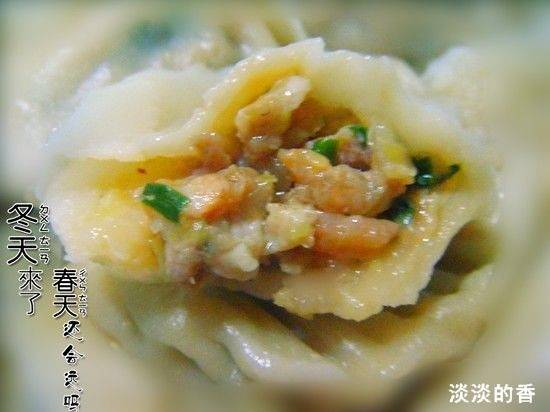 Home Cooking Recipe: Cabbage pork stuffing dumplings