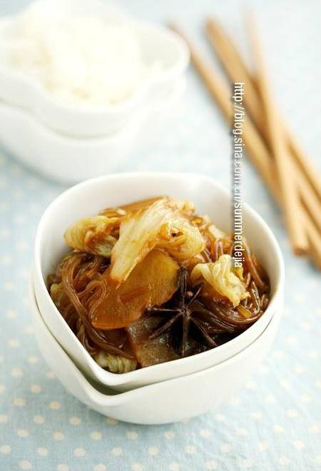 Home Cooking Recipe: Cabbage stewed potatoes