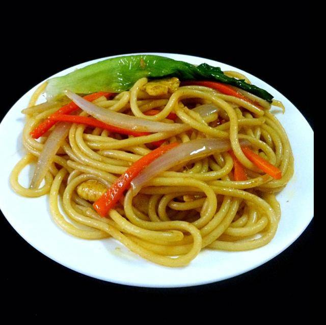 Home Cooking Recipe: Chinese fried pasta