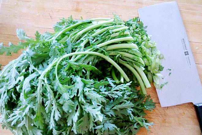 Home Cooking Recipe: Chopped wormwood