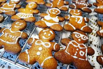 [Christmas] French Gingerbread Man Cookies ~ Ginger Sugar Cookies