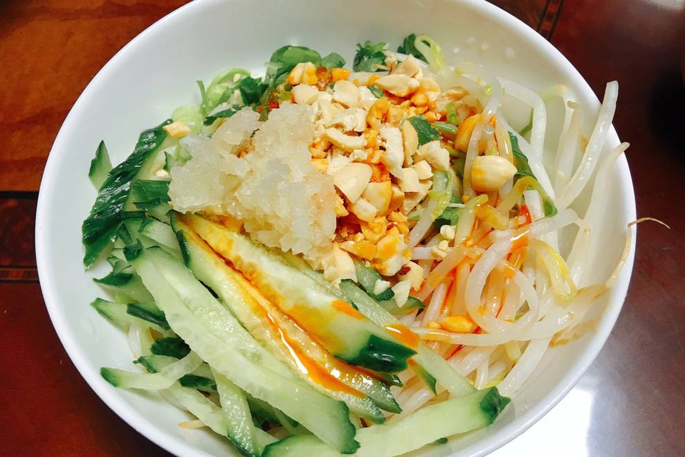 Home Cooking Recipe: Cold noodles