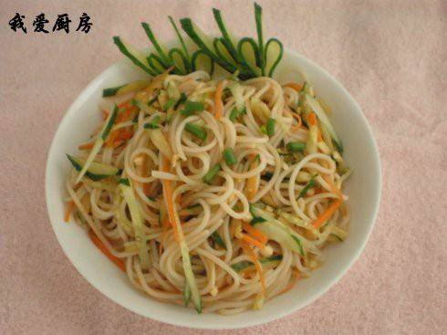Home Cooking Recipe: Cold rice noodles