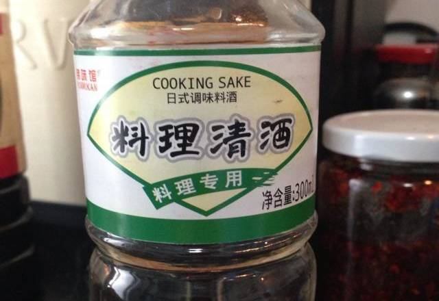 Home Cooking Recipe: Cooking sake