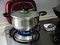 Home Cooking Recipe: Cover the lid and boil over high heat to turn off the fire.