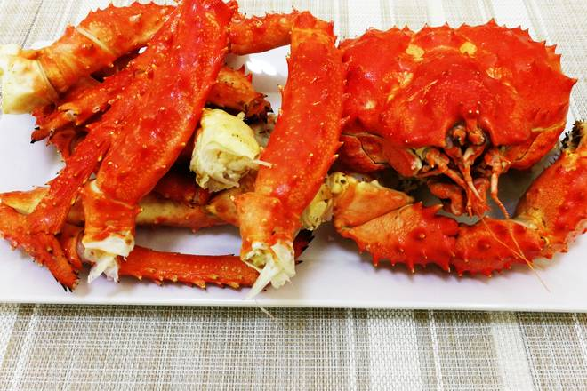 Home Cooking Recipe: Crab steamed, aired, spare