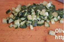 Home Cooking Recipe: Cucumber diced