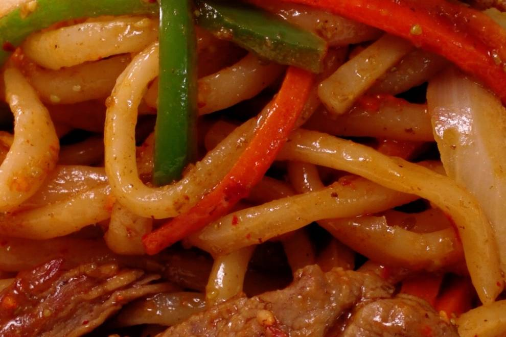 Home Cooking Recipe: Cumin beef fried noodles