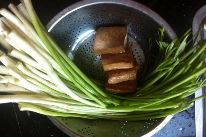 Home Cooking Recipe: Dry cleaning of cress beans