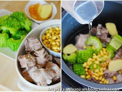 Home Cooking Recipe: Dry soy beans washed in advance with cold water