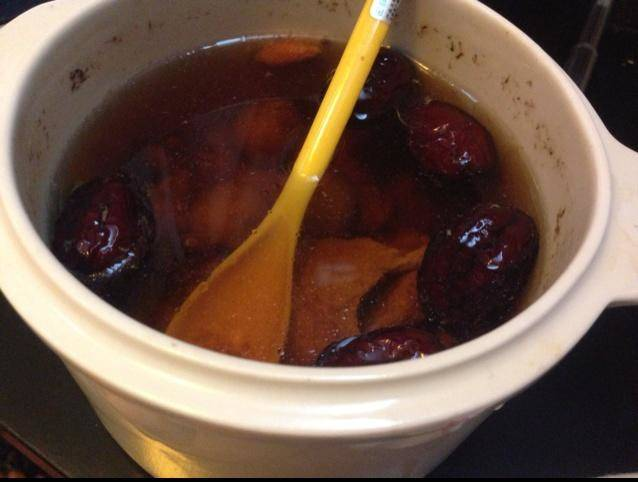 Home Cooking Recipe: Electric stewed version of fig lean broth