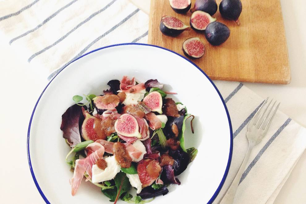 Home Cooking Recipe: Fig salad