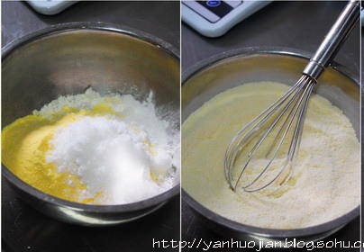 Home Cooking Recipe: First put all the dry materials of part A into a container, mix the materials evenly with the egg beater, and stir the place where there is agglomeration.