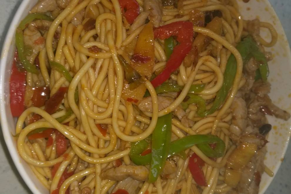 Home Cooking Recipe: Fish fried noodles