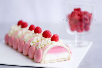 French Raspberry Mousse Cake (Chuan upper generation)