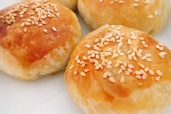 Home Cooking Recipe: Freshly baked ~! Basically, the golden color of the skin is baked.