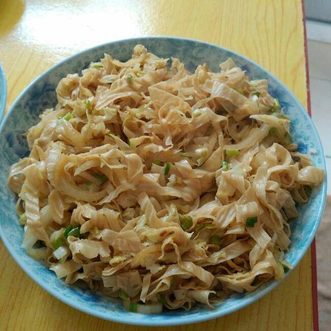 Home Cooking Recipe: Fried bean curd with cabbage