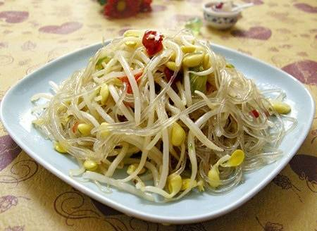 Home Cooking Recipe: Fried bean sprouts fans