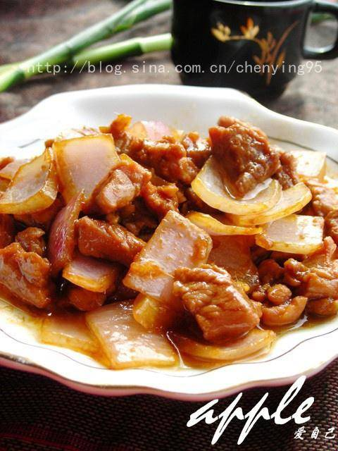 Home Cooking Recipe: Fried beef with onion