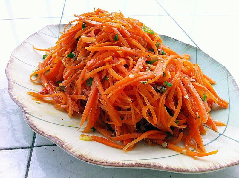 Home Cooking Recipe: Fried carrots