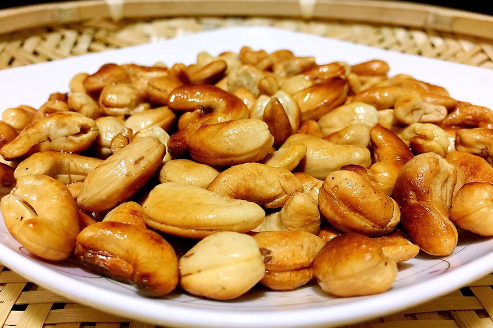 Home Cooking Recipe: Fried cashew nuts