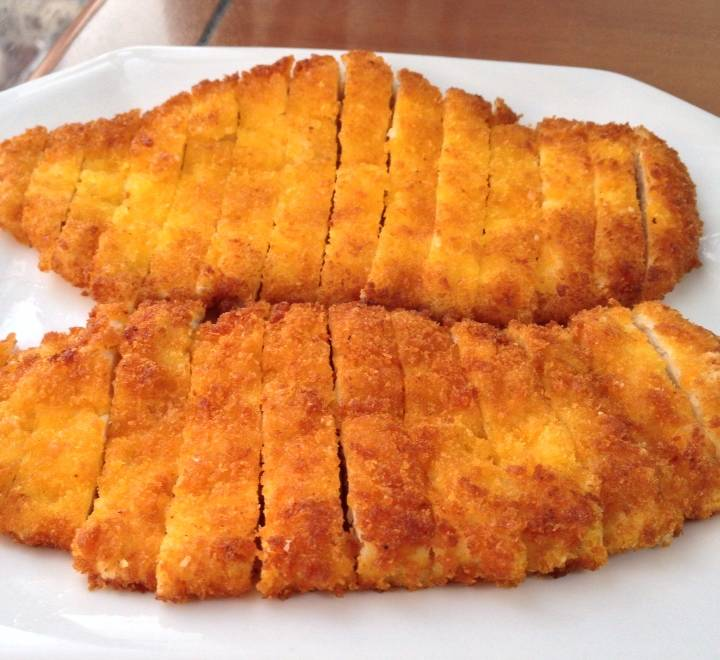 Home Cooking Recipe: Fried chicken chops