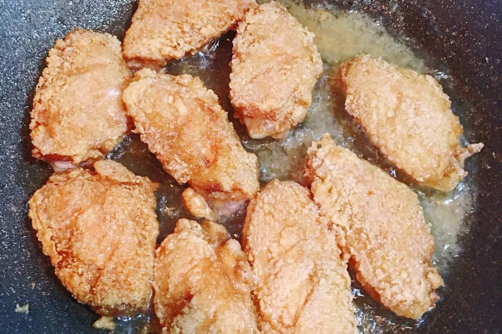 Home Cooking Recipe: Fried chicken wings