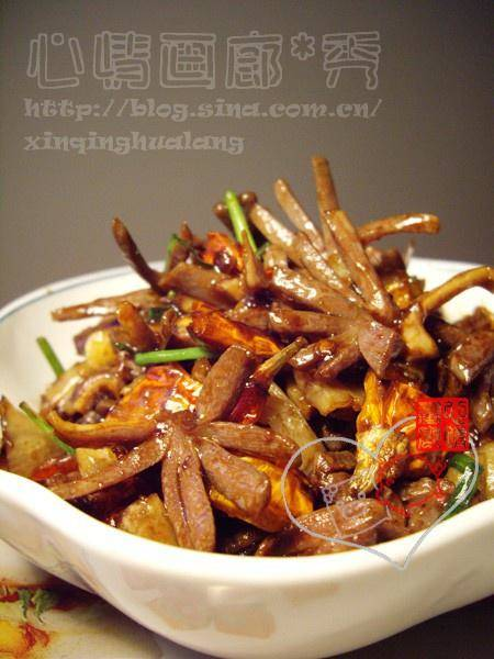 Home Cooking Recipe: Fried duck