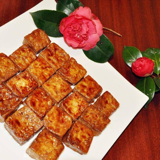 Home Cooking Recipe: Fried fragrant tofu