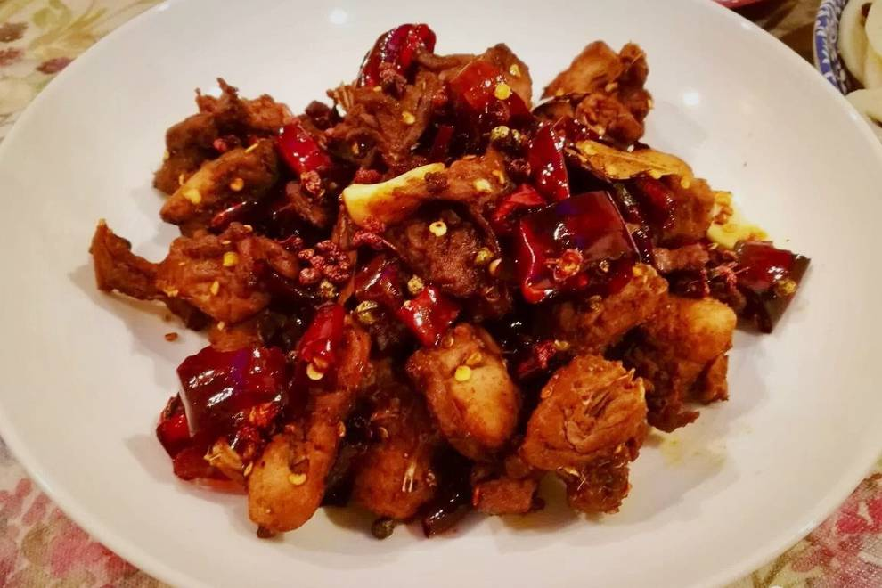 Home Cooking Recipe: Fried fried rabbit meat