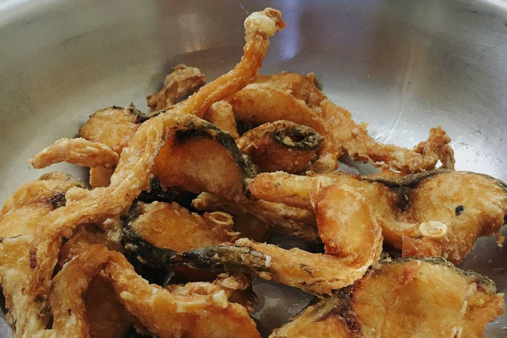 Home Cooking Recipe: Fried grass fish