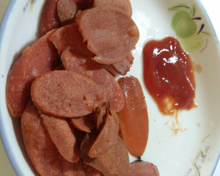 Home Cooking Recipe: Fried ham slices